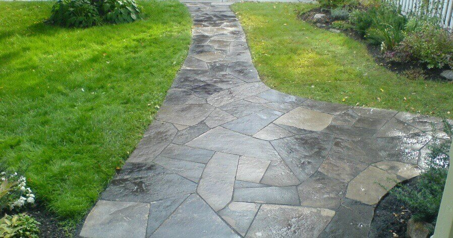 new edinburgh flagstone walkway