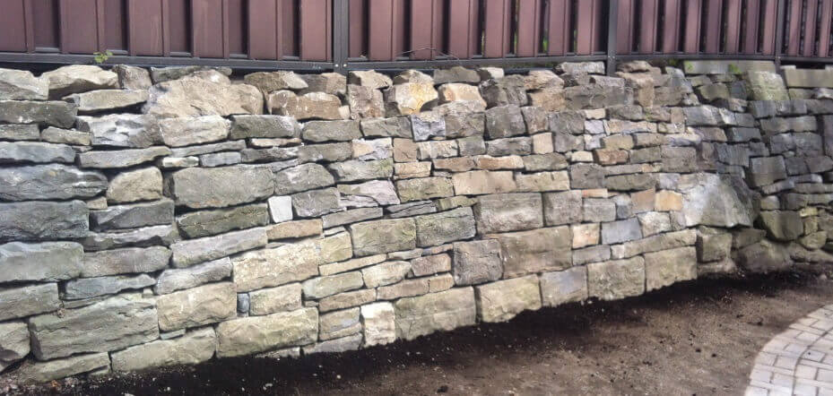Manor Park retaining wall repair