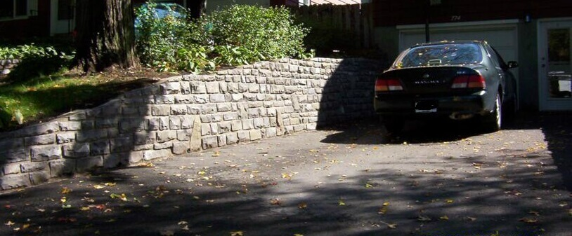 Ottawa retaining wall