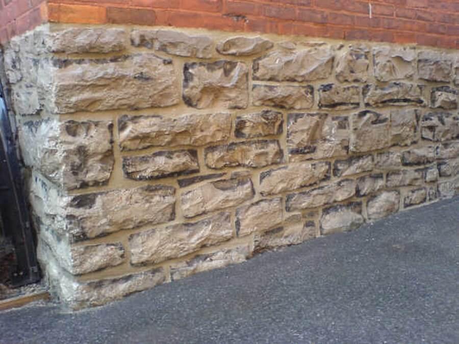 Repaired Stone Foundation in the Glebe